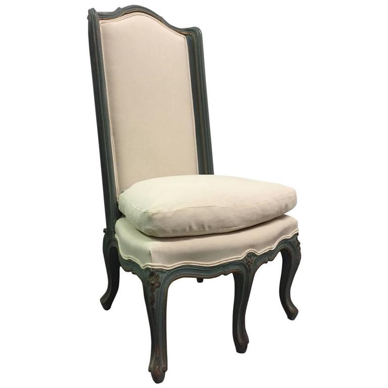 Louis XV Style Slipper Chair