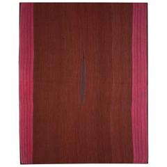 18th Century Camelid Wool Aymara Poncho from Bolivia