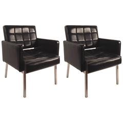 Pair of Chic International Style Chairs