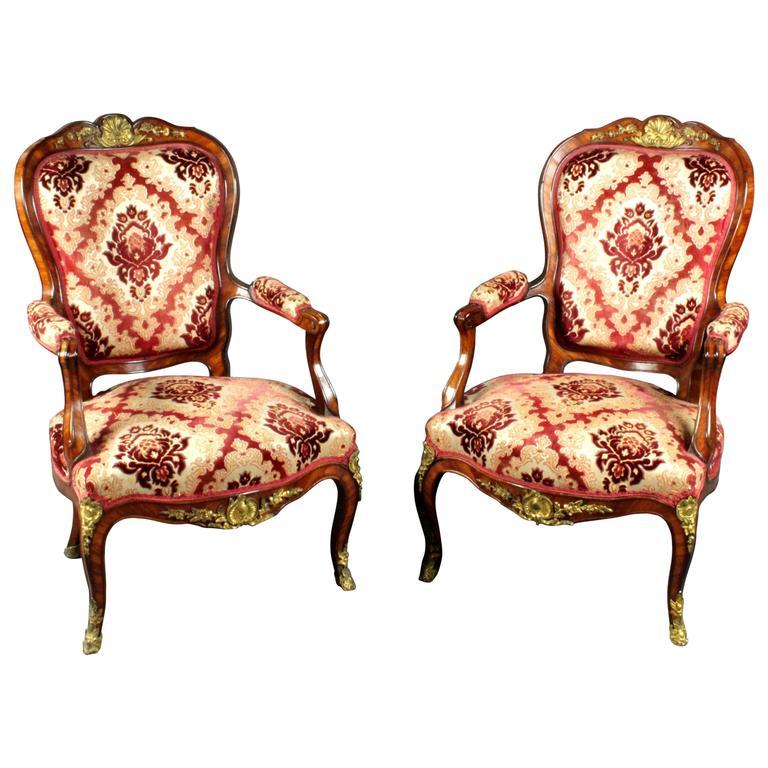 Antique Pair of Armchairs