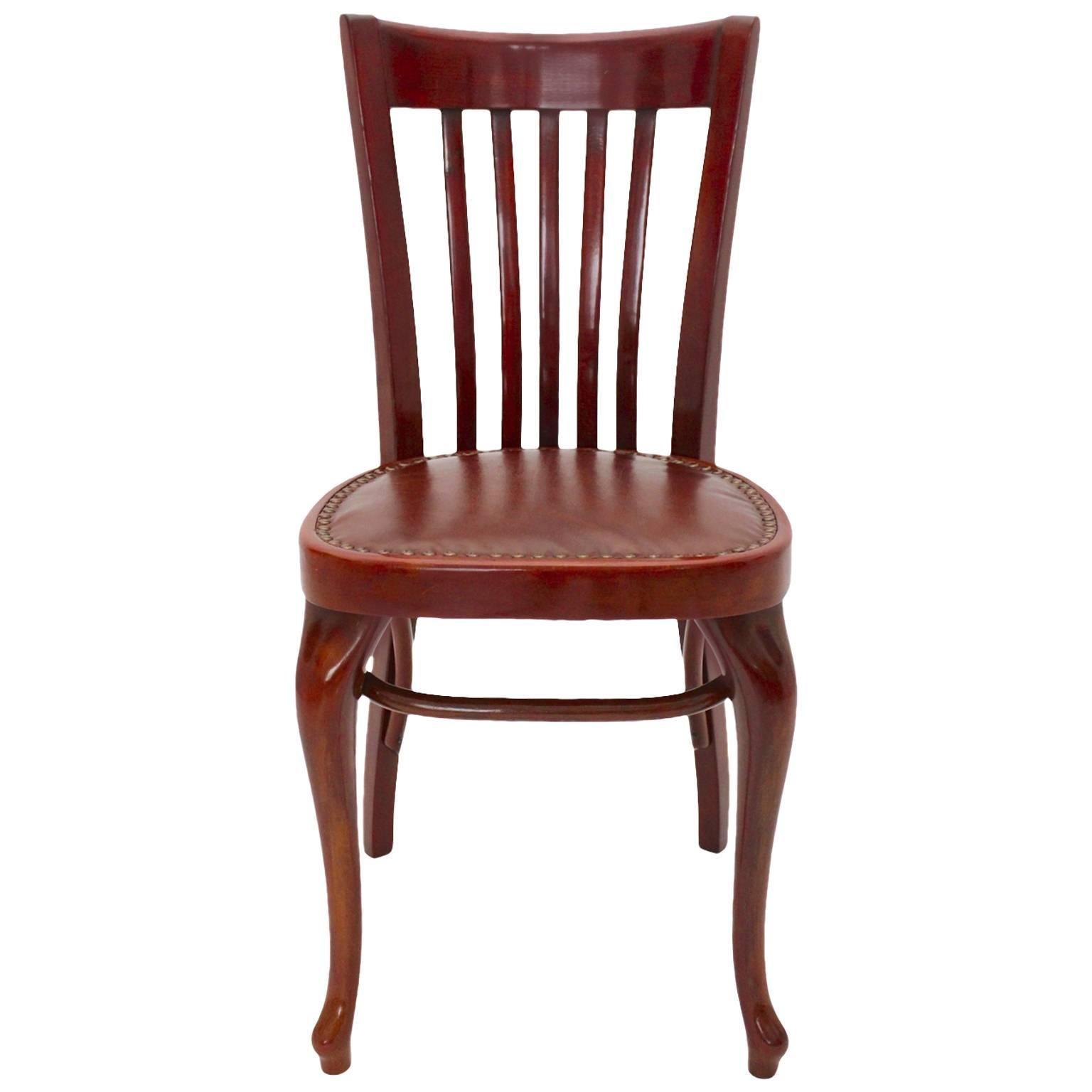 Jugendstil Vintage Thonet Chair No 519 Adolf Loos for Cafe Capua Vienna 1913