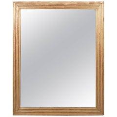 Gilt Louis XVI Baguette Frame Mirror