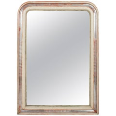 Louis Philippe Silver Leaf Mirror