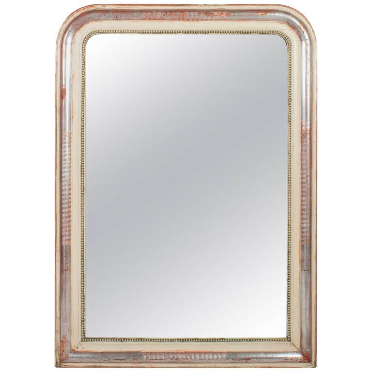 Louis Philippe Silver Leaf Mirror