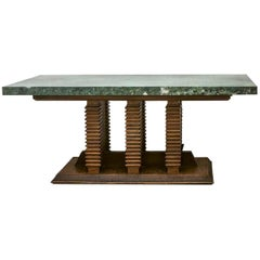 Library or Center Table by Pier Luigi Colli, Italy c.1950