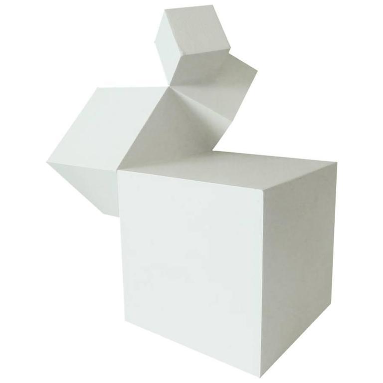 Cubist Sculpture by David John Barr