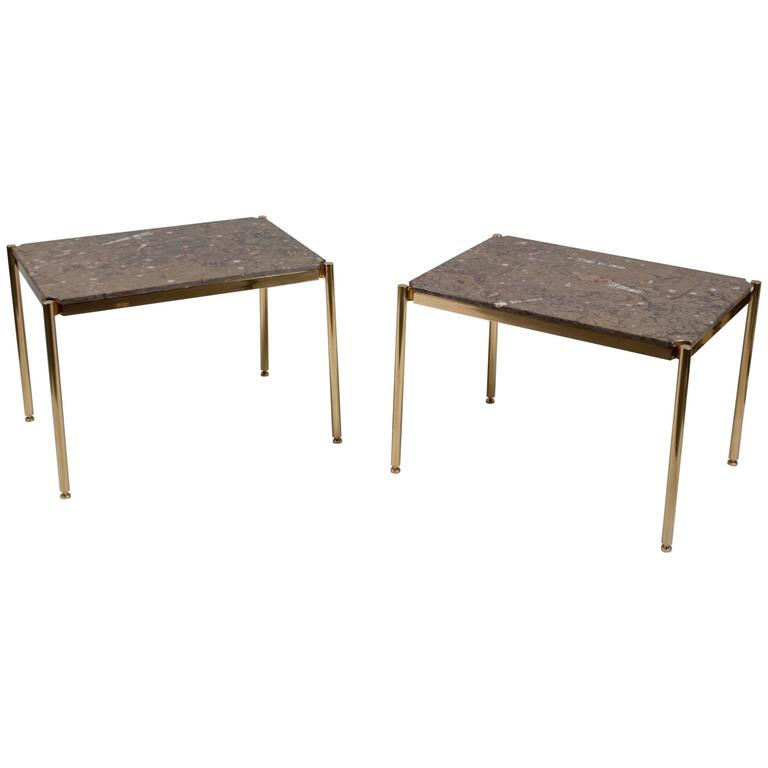 Pair of Tables by Osvaldo Borsani, Italy, 1960's For Sale