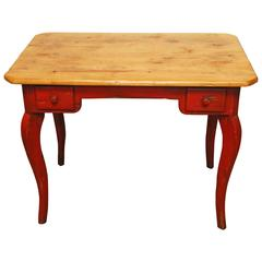 Distressed French Writing Table by Farmhouse Collection