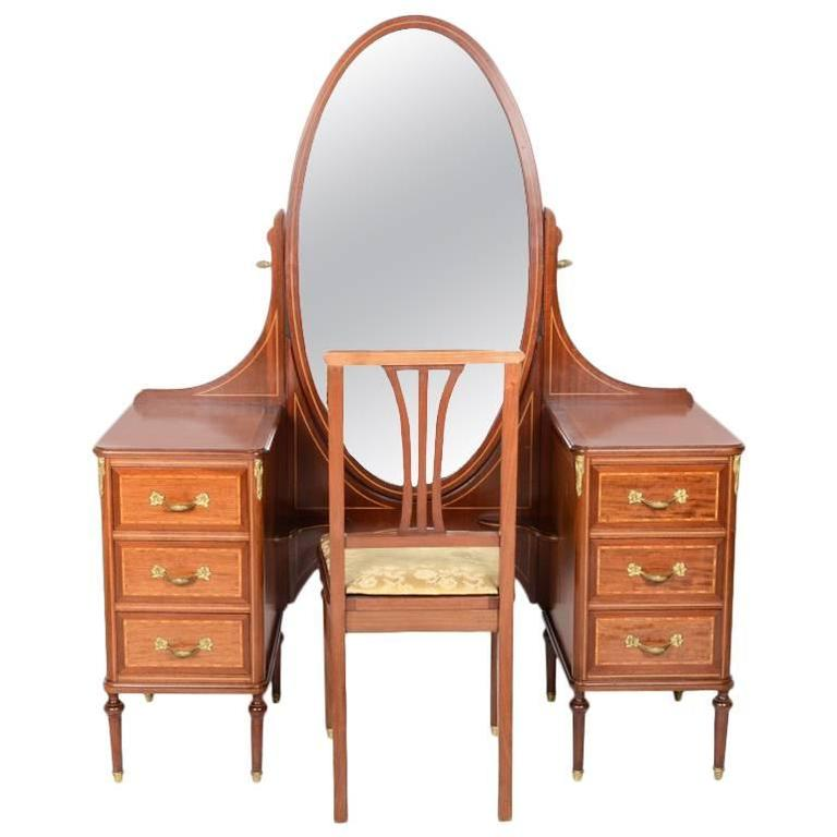French louis xvi style vanity circa 1920 at 1stdibs for Bathroom cabinets 50cm wide
