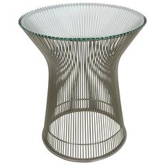 Iconic Warren Platner for Knoll Side Table