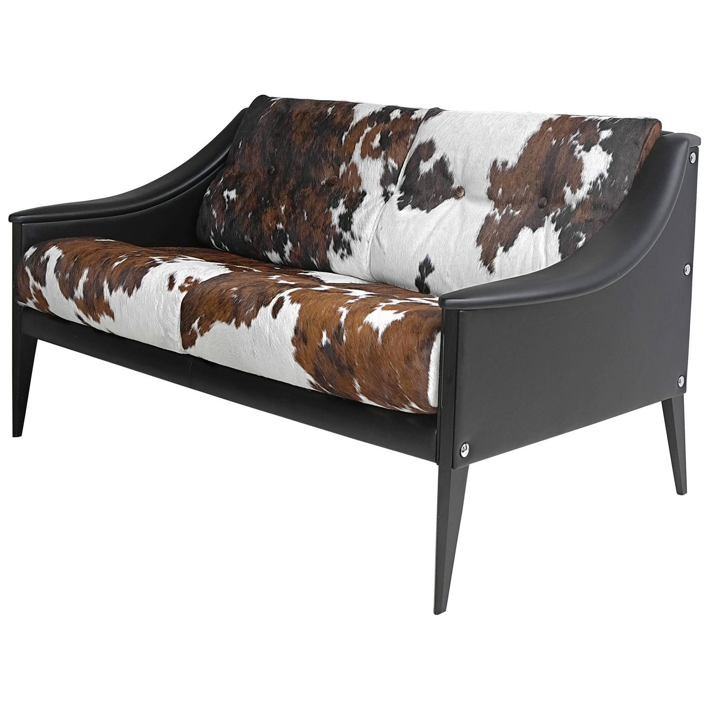 "Gio Ponti ""Dezza"" Cowhide Sofa By Poltrona Frau At 1stdibs"