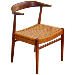Hans Wegner Style Armchair by DUX