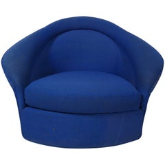 Mid-Century Bertoia Style Lounge Chair
