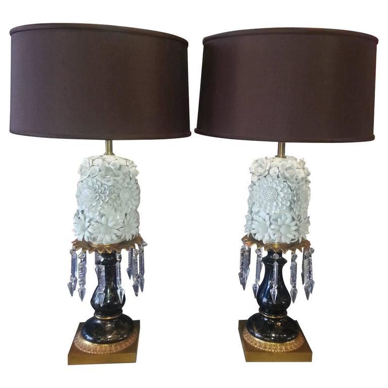 "Pair of ""Blanc de Chine"" Lamps"