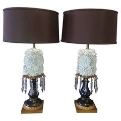 "Pair of ""Blanc de Chine"" Lamps"