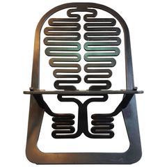 Gregg Fleishman Laminated Plywood Lounge Chair