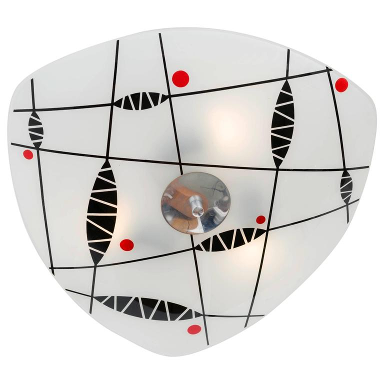 Ceiling Light by Napako, 1960s