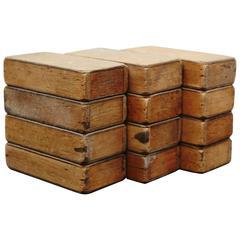 Ko Verzuu Set of Blocks for Ado, circa, 1920