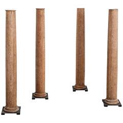 18th Century Set of Four Columns