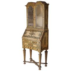 Decorated Bureau Cabinet, Piedmont, circa 1680