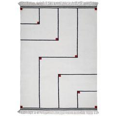 "Vibeke Klint ""Vertigo"" Flat-Weave Carpet, 1970s"