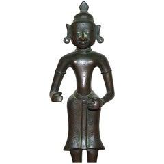 Indian Bronze Statue of Radha and Krishna, Bengal