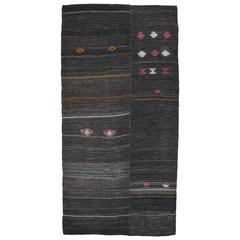 Primitive Goat Hair Kilim