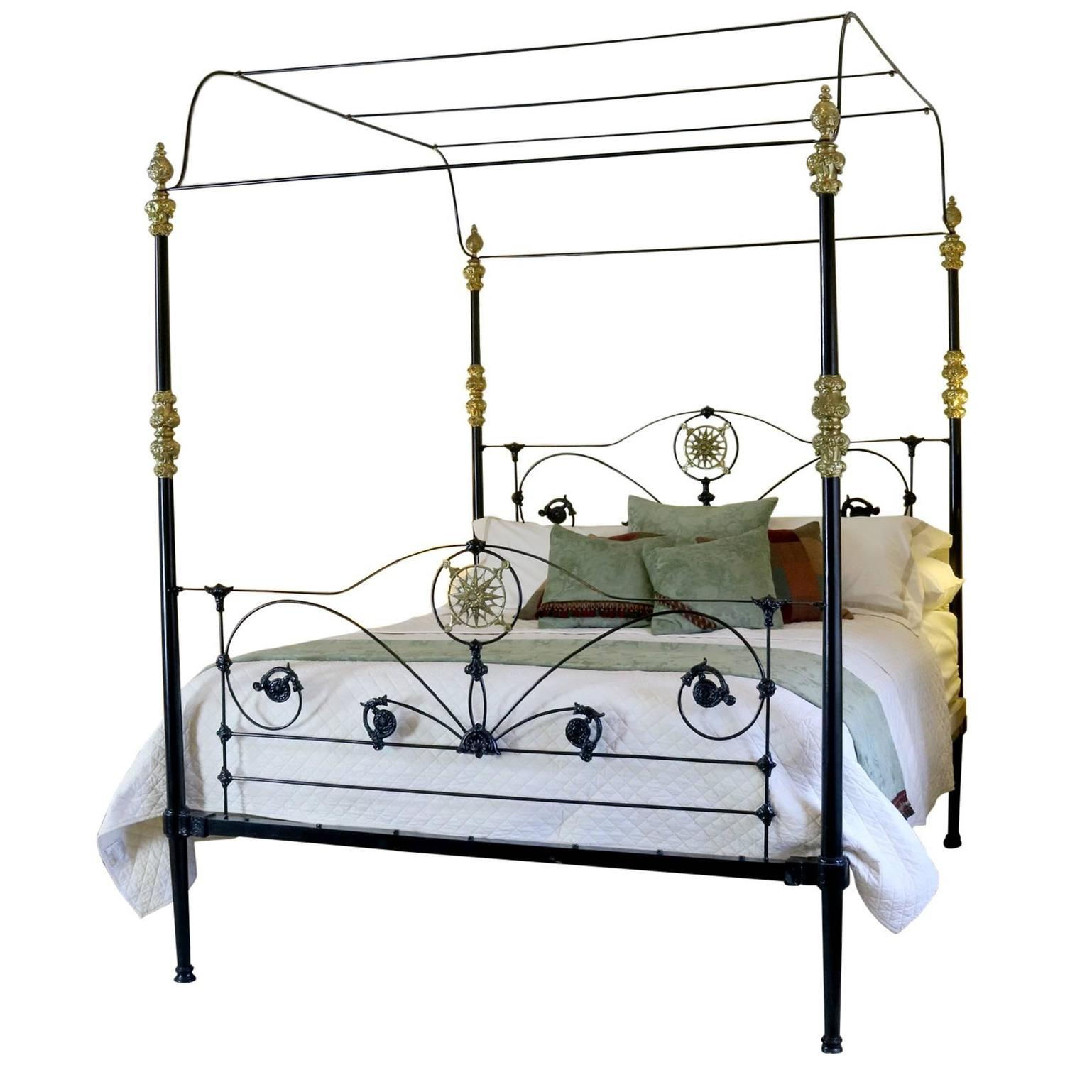 Cast Iron Four Poster Bed For Sale At 1stdibs
