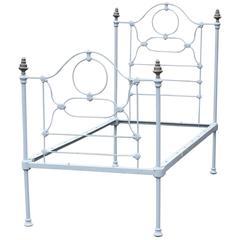 Single Cast Iron Bed