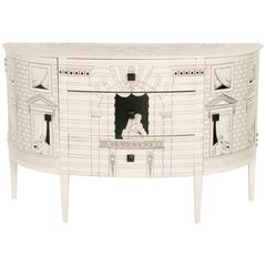 Vintage Fornasetti Style Commode