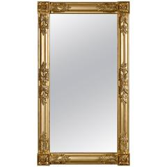 Giltwood Pier/Overmantle Mirror, circa 1830