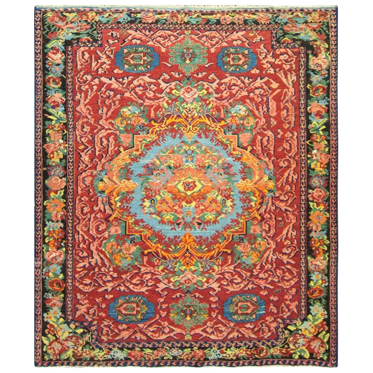 Colorful antique karabagh soumak for sale at 1stdibs for Colorful rugs for sale