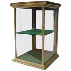 1900s General Store Counter-Top Display Showcase by Excelsior Company