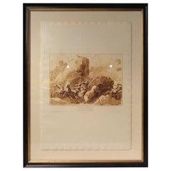 Framed 19th Century Italian Engravings