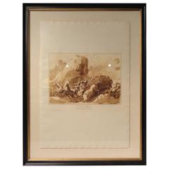 Framed 19th Century Italian Engravings