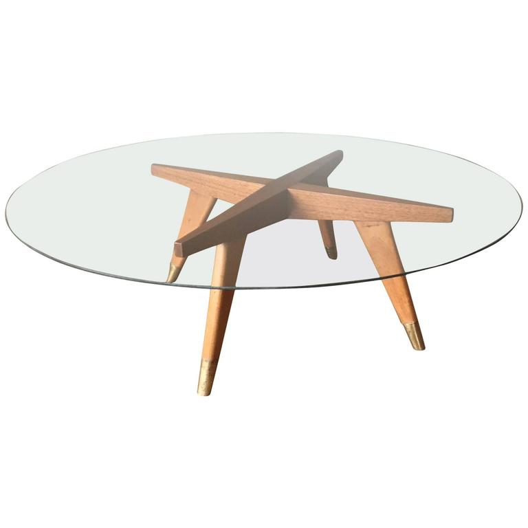 1960s mexican modernist table base in the style of gio for Mexican style coffee table