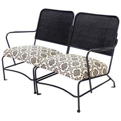 Two Part French Outdoor Love Seat