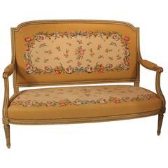 19th Century Louis XVI-Style Settee