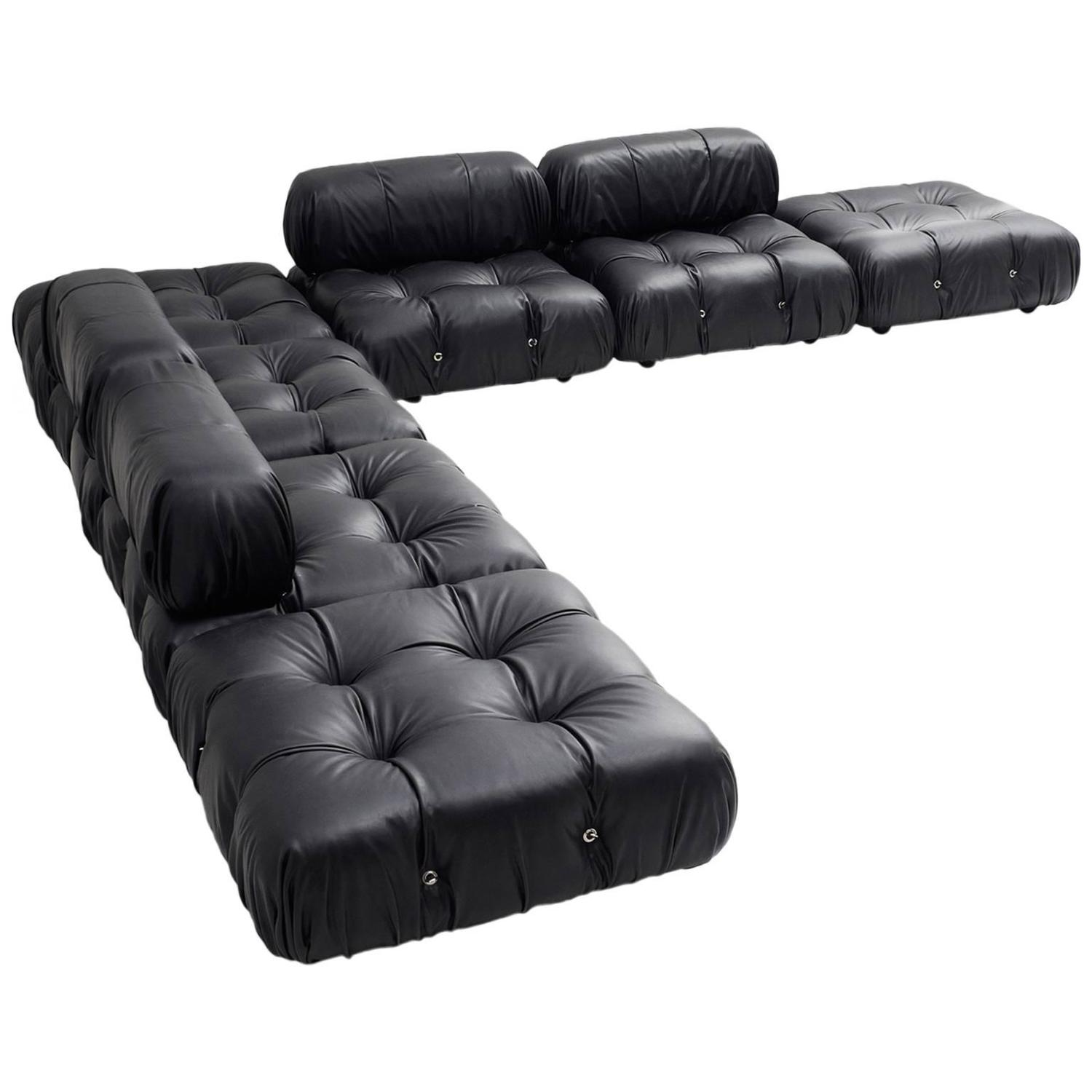mario bellini modular sofa 39 camaleonda 39 at 1stdibs. Black Bedroom Furniture Sets. Home Design Ideas
