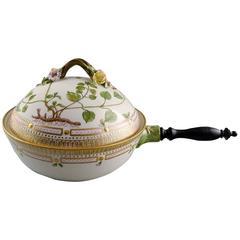 """Royal Copenhagen """"Flora Danica"""" Porcelain Vegetable Dish"""