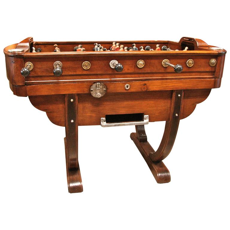 French 1950s Foosball Table 1