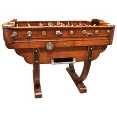 French 1950s Foosball Table