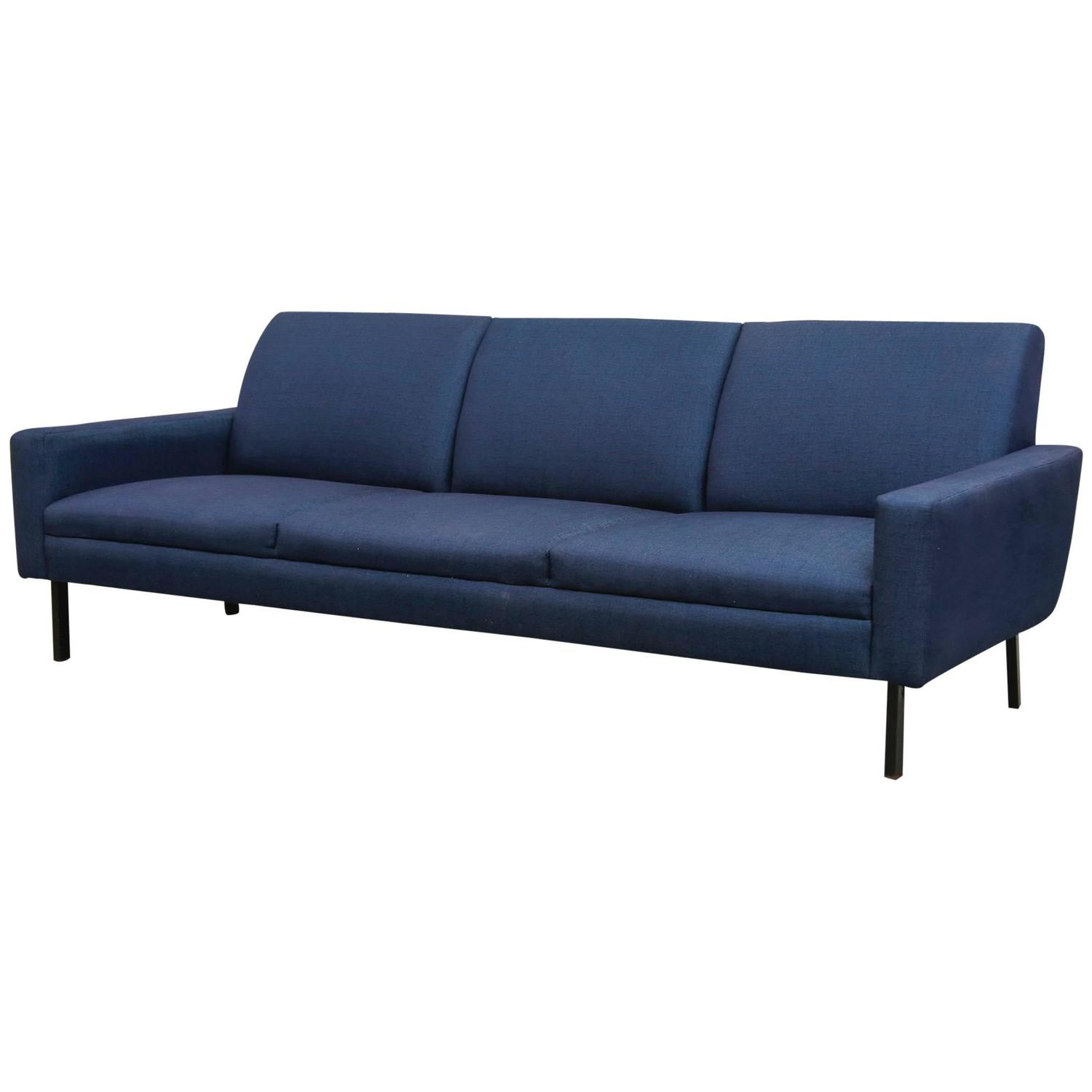 Classic mid century gelderland attributed three seater for Cleopatra sofa bed