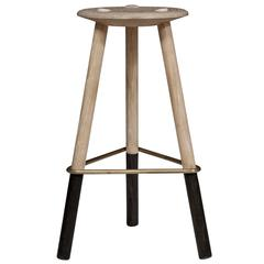 Tripod No Back Barstool