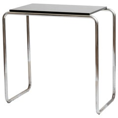 1930s Lacquered Bar Console Table in the Style of Marcel Breuer