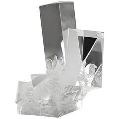 """David Dowler for Steuben """"Prism Crystal"""""""