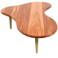 Biomorphic Coffee Table by T.H. Robsjohn-Gibbings for Widdicomb