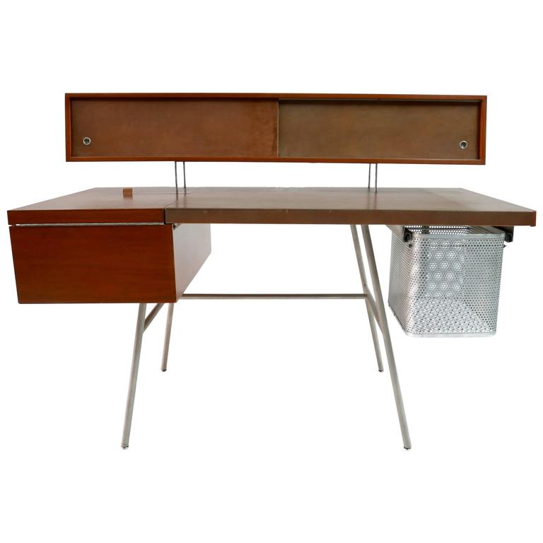 George Nelson Home Office Desk By Herman Miller 1946 At