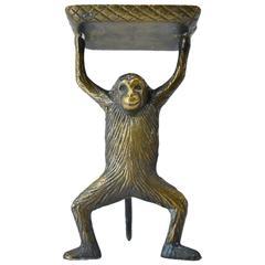 Bronze Monkey Card Holder