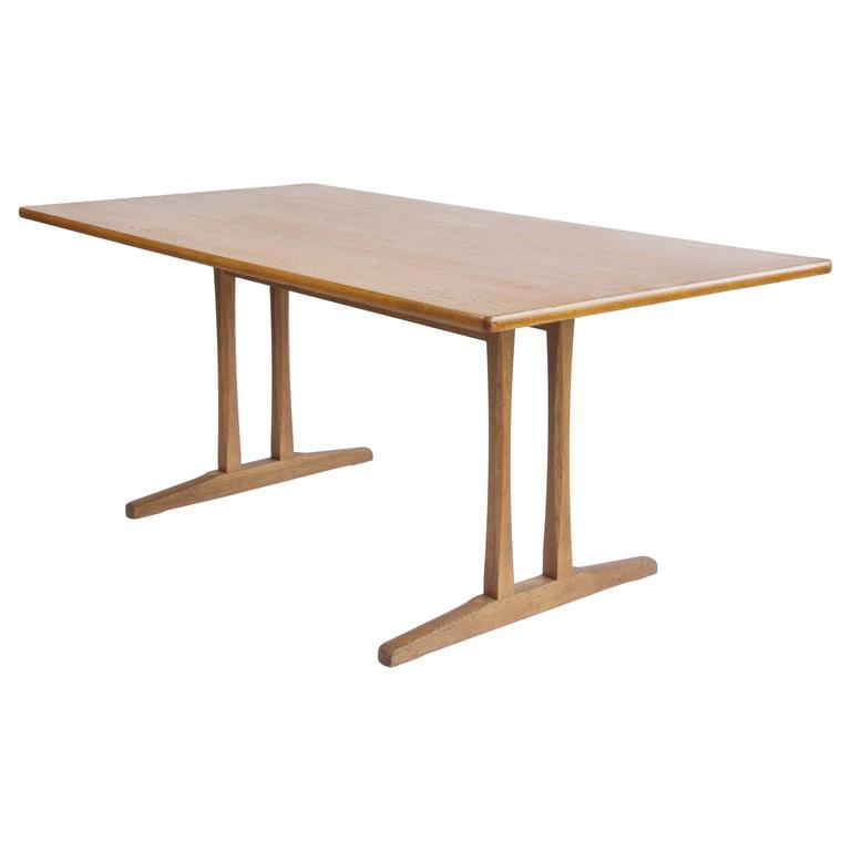 Shaker Table C18 By Børge Mogensen For Sale